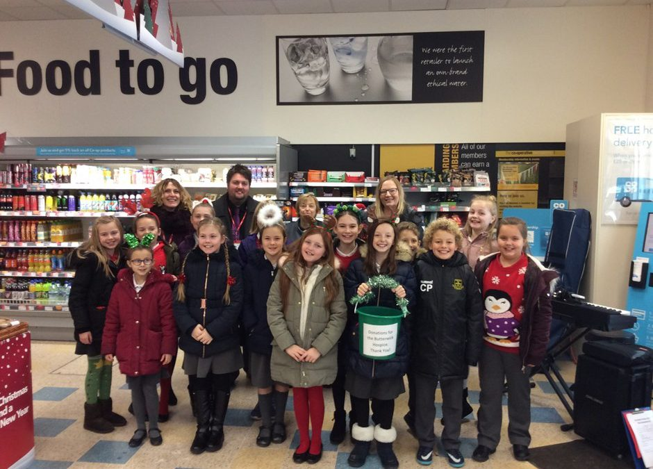 The Glebe Choir Wows at Norton Co-op!