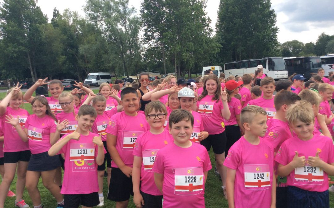'Go Run for Fun' Event at Preston Park